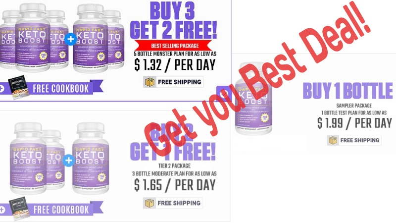 Rapid Fast Keto Boost Price