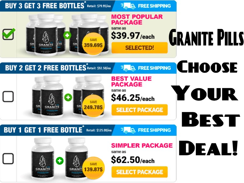 Granite Pills Price