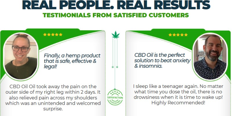 Full Spectrum CBD Oil Customer Reviews