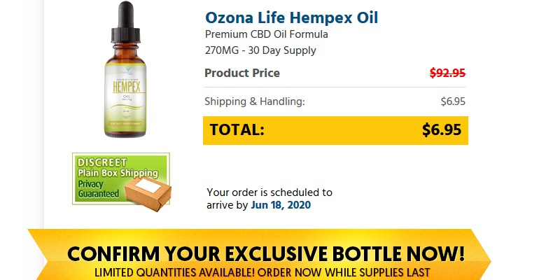 Ozona Life CBD Oil Buy